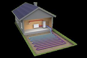 Tepelná čerpadla země - voda s plošným kolektorem